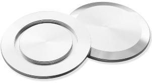 Blank flange Aluminum, DN16KF/DN10KF