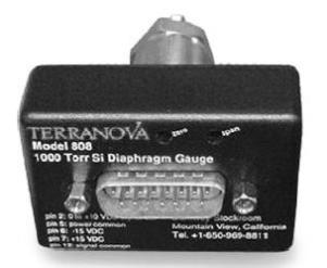 Terranova 808 Silicon Piezo sensor, 0,5 to 1000 Torr