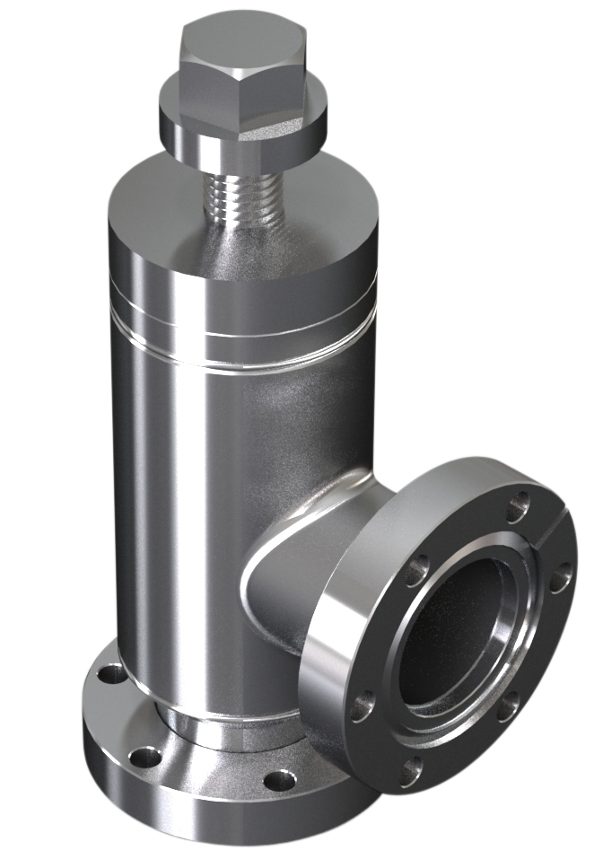 All metal angle valve manual operated DN19CF
