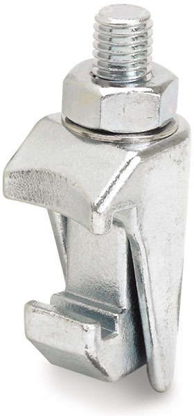 ISO-K double clamp galvanized steel M10, DN63ISO/DN320ISO