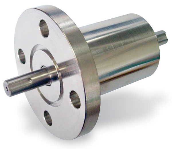 Rotary motion feedthrough, torque 5,6 Nm, DN40CF