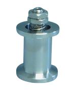 Adjustable (100 - 270 mBar) spring loaded overpressure relief valve DN16KF