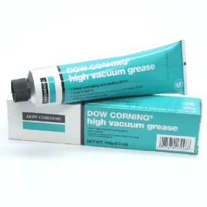 Dow Corning low vapor high vacuum grease -40/260º C. 150 gram