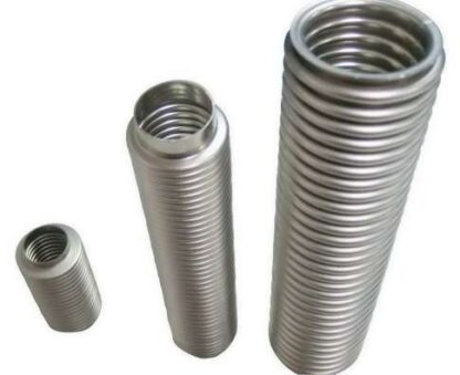 Bellow without flanges L=1000mm, DN10, stainless steel 316L