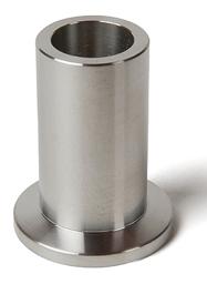 Half nipple long, DN10KF, height 52mm, tube OD=14mm, stainless steel 316L
