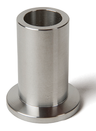 Half nipple long, DN40KF, height 58mm, tube OD=45mm, stainless steel 316L
