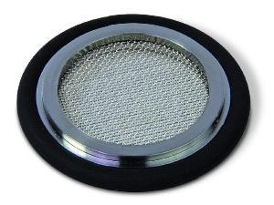 Filter centering ring 0.3 mm, Viton, DN25KF