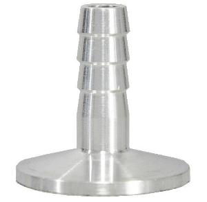 Hose adapter Aluminum for hose ID 8mm, DN50KF