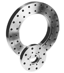 Zero length reducer flange DN100CF/63CF, smallest flange bolt holes thread M8