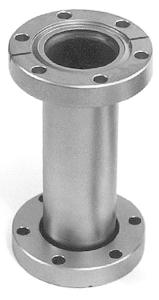 Full nipple fixed flanges, DN19CF, L=76mm