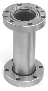 Full nipple fixed flanges, DN63CF, L=210mm, stainless steel 316L