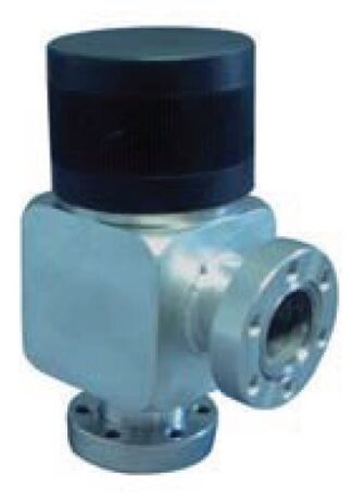 Manual operated, bellow sealed angle valve, DN63CF