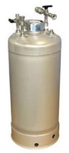 17 liter reservoir for solvent purification system
