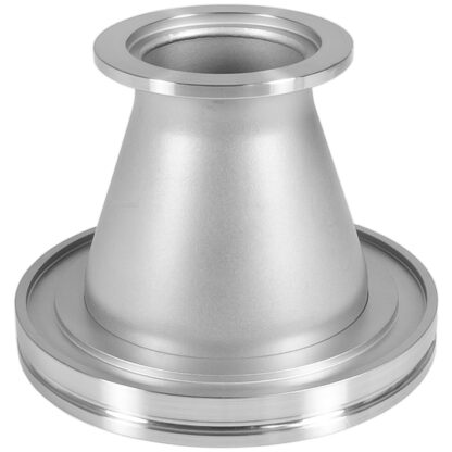 Conical ISO to KF adapter DN63ISO/DN25KF, Aluminum