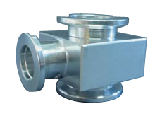 Reducing Tee Aluminum, DN50KF/DN10KF