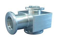 Tee Aluminum, DN40KF