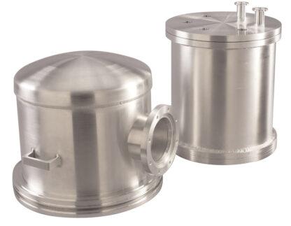 """Aluminum Bell Jar, 12"""" internal diameter, 18"""" height"""