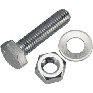 Bolt, nut and washer M10X50MM, DN160ISO-F