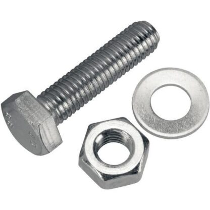 Bolt, nut and washer M10X50MM, DN200ISO-F