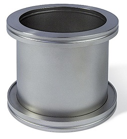 Full nipple DN63ISO, L=100mm, Aluminum