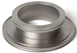 Reducer nipple DN100ISO/DN63ISO, Aluminum