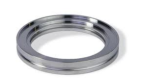 ISO-K bored flange DN63ISO, bore size 76,6mm, Aluminum