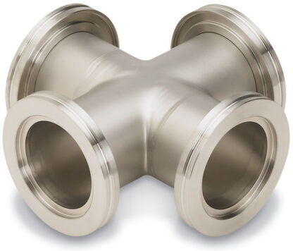Cross 4-way DN63ISO, stainless steel 316L