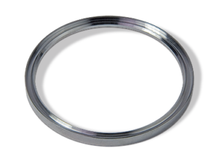 Metal seal Aluminum inner support for tapered style DN63 flange