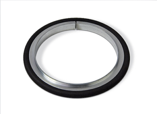 Centering ring Aluminum Silicone, DN100ISO