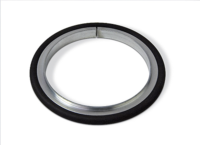 Centering ring Aluminum Silicone, DN320ISO