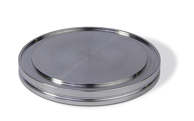 ISO-K blank flange DN100ISO, OD = 130mm, stainless steel 316L