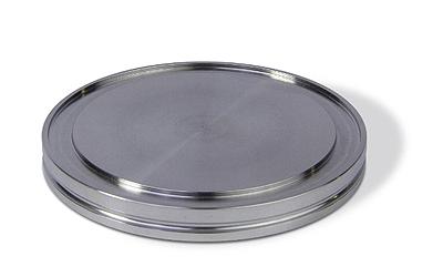 ISO-K blank flange DN100ISO, OD = 130mm, Aluminum