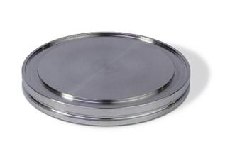 ISO-K blank flange DN160ISO, OD = 180mm, Aluminum