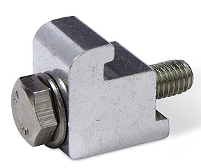 ISO single clamp Aluminum M8, DN63ISO/DN100ISO
