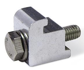 ISO single clamp Aluminum M10, DN160ISO/DN250ISO