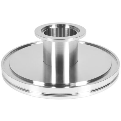 ISO to KF adapter DN160ISO/DN25KF, stainless steel 316L