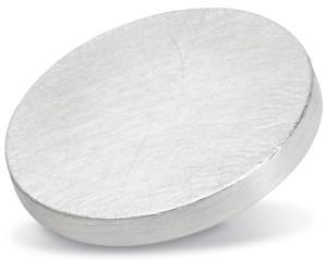 Iridium Rhodium target purity: 99,9 %