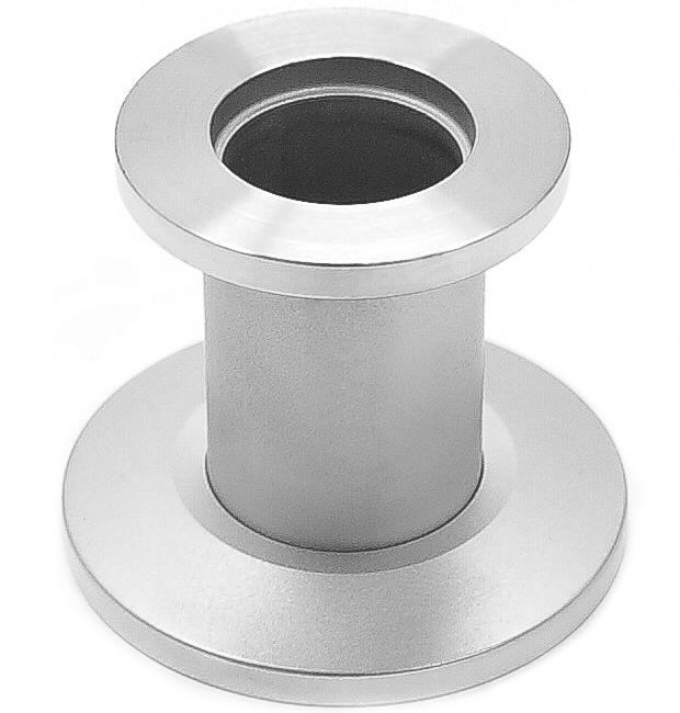 Reducer nipple stainless steel 316L, DN40KF/DN25KF, L=30mm