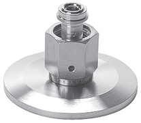 "Adapter 1/4"" female VCR, DN40KF, stainless steel 316L"