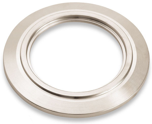 Bored flange DN25KF, bore size 28,3mm, stainless steel 316L