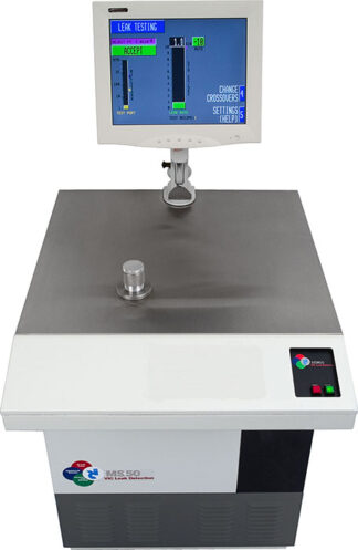 MS-50-DRY high production console Helium leak detector