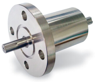 Rotary motion feedthrough, torque 18 Nm, DN40CF