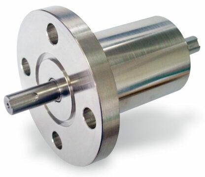 Rotary motion feedthrough, torque 18 Nm, DN40CF