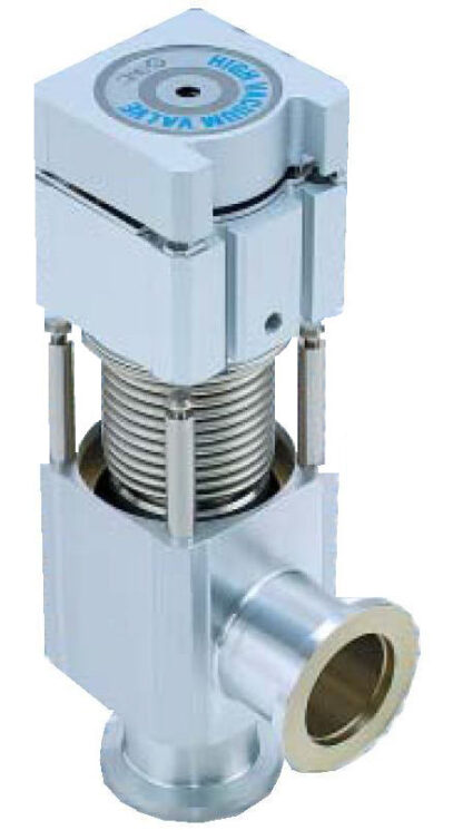Quick maintenance bellow sealed valve DN40KF, with indicator on flange side