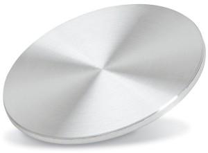 Aluminum Copper target purity: 99,99 %