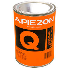 Apiezon Q putty, temporary seal, vapor pressure 10-5 mBar, 1 kg