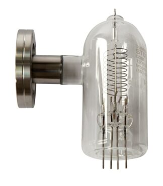Glass type Ion gauge, dual tungsten filament, DN40CF