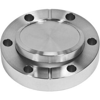 Blank flange rotatable, DN19CF, 6 bolt holes