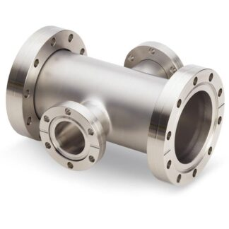 Reducer 4-way cross 2 flanges rotatable, DN100CF/DN19CF