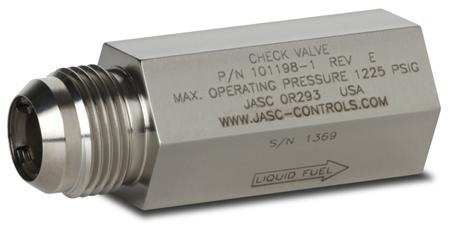 Check valve 25 psi